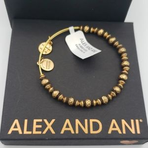 NWT Alex and Ani Canyon Beaded Bangle